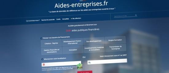 Financement: le nouveau site internet aides-entreprises.fr est en ligne!