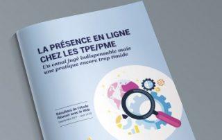 61% des TPE-PME consacrent moins de 300€ par an à leur présence en ligne
