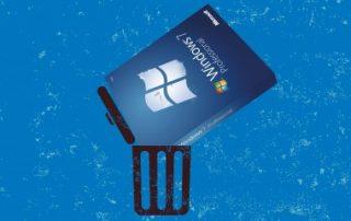 La dernière année de Windows7