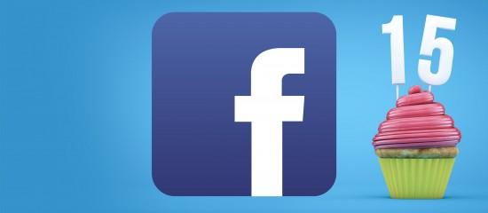 Facebook fête ses 15ans