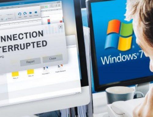 Windows7: arrêt du support technique
