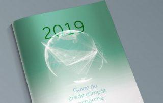 Crédit d'impôt recherche: le guide2019 est enfin paru!