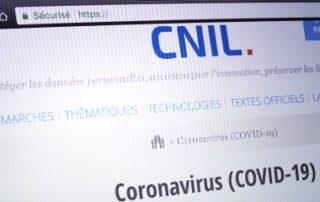 Crise du Covid-19 et données personnelles: les recommandations de la CNIL