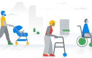 Mobilité réduite: GoogleMaps déploie une nouvelle fonctionnalité